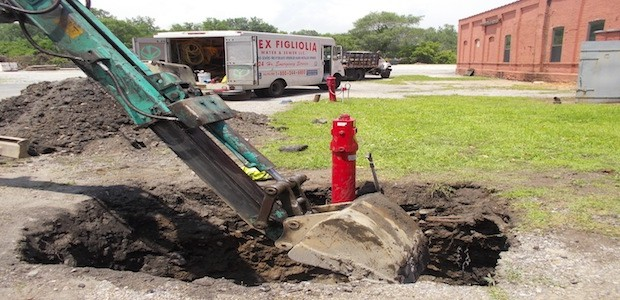 Subsurface Excavation Sewer Water Main Meter Installation Repair