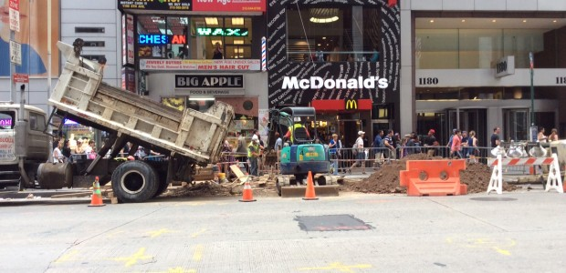 Emergency Sewer Repair for NYC McDonald's